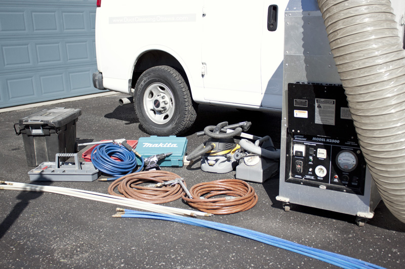 whips, hoses and various tools